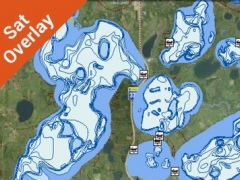 Lake of the Ozarks HD GPS Fishing chart 5.1.3 Screenshot