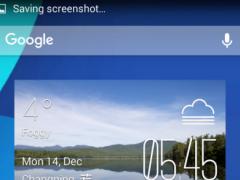 Lakes Weather widget/clock 2.0 Screenshot