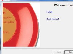 LAlarm - laptop alarm 1.1 Screenshot