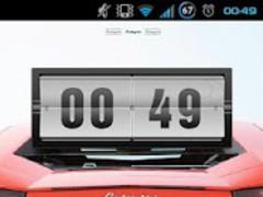 Lambo Aventador Go EX Theme 1.0 Screenshot
