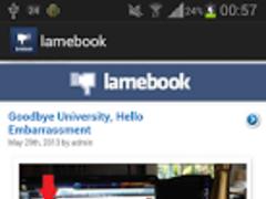 Lamebook 2.0 Screenshot