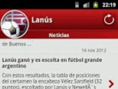 Lanús For Fans 1.4.5 Screenshot