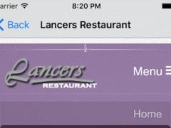 Lancers Restaurant 1.0 Screenshot