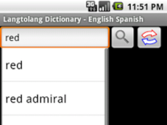 Langtolang Dictionary 1.5 Screenshot
