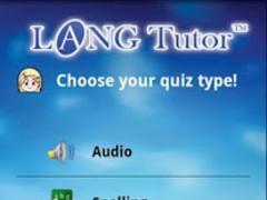 LangTutor - Ukrainian 1.2 Screenshot