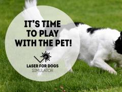 Laser for dogs 🐶 Simulator 2.0 Screenshot