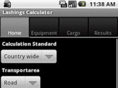 Lashing Calculator 1.4 Screenshot