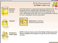 LastBit ICQ Password Recovery 1.5.305 Screenshot