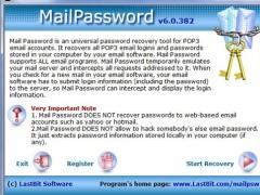 LastBit Mail Password Recovery 6.0.382 Screenshot