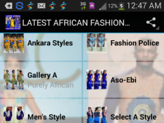LATEST AFRICAN FASHION STYLES 1.0 Screenshot