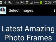 Latest Amazing Photo Frames 1.0 Screenshot