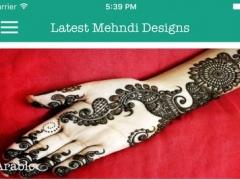 Latest Mehndi Designs Pro 1.0.1 Screenshot