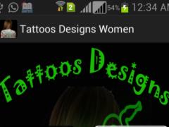 Latest Tattoos Designs Women 1.1 Screenshot