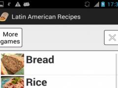 Latin-American Recipes 1.0 Screenshot