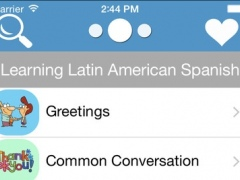 Latin American Spanish - English Vocabulary And Phrases Book Free 1.0 Screenshot