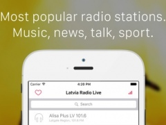 Latvia Radio Player - Listen FM Live Radio & internet podcasts for Latvian & latviešu people 1.0 Screenshot