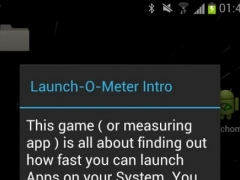 Launch-O-Meter 0.1 Screenshot