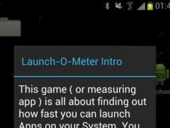 Launch-O-Meter 0.1 Screenshot