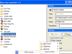 Launcher - Free Edition 2.2.0 Screenshot