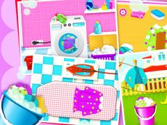 Laundry Girls Washing Clothes 1.8 Screenshot
