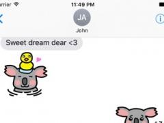 Lazzi The Koala Stickers 1.0 Screenshot
