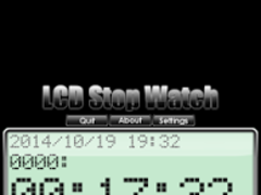 LCD Stop Watch(FREE) 4.2.7 Screenshot