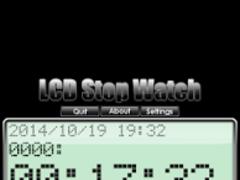 LCD stop watch 4.2.7 Screenshot