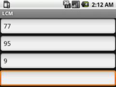 LCM (free) 1.0 Screenshot