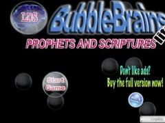 LDS Prophets and Scriptures Bubble Brains Lite 1.0 Screenshot