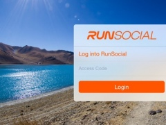 Leaderboard: RunSocial treadmill running event results in real-time 1.0.1 Screenshot