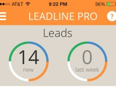 LeadLine Pro 1.4.1 Screenshot