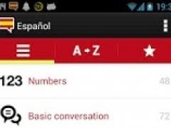 1000 Spanish words with audio 1.0.3 Screenshot