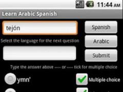 Learn Arabic Spanish 1.0 Screenshot
