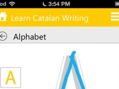 Learn Catalan Writing by WAGmob 1.0 Screenshot