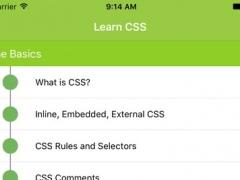 Learn CSS - CSS Tutorial for Beginners 1.0 Screenshot
