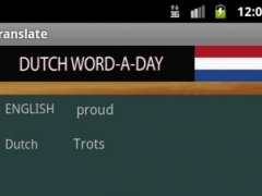 Learn Dutch 1.0 Screenshot