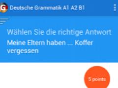 Learn German grammar A1 A2 B1 1.4 Screenshot