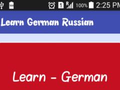 Learn German Russian 1.0 Screenshot
