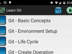 Learn Git 1.1 Screenshot