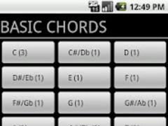 Learn Guitar Chords And LITE 1.7 Screenshot