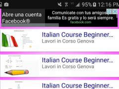 Learn Italian for Beginners 2 Screenshot