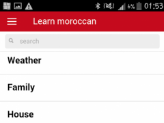 Learn morocco language 0.0.4 Screenshot
