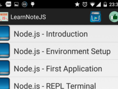 Learn NodeJs 1.1 Screenshot