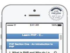 Learn PHP offline 1.0 Screenshot