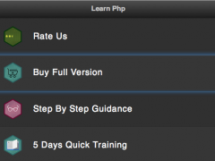 Learn Php : Tutorial for PHP 2.1.1 Screenshot