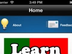 Learn Portuguese Quick 1.0 Screenshot