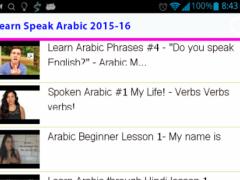 Learn Speak Arabic 1.0 Screenshot