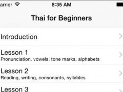 Learn Thai for Beginners 1.0 Screenshot