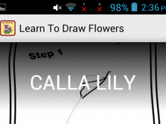 Learn To Draw Flowers 1.0.0 Screenshot
