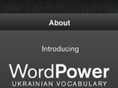 Learn Ukrainian WordPower 4.3 Screenshot